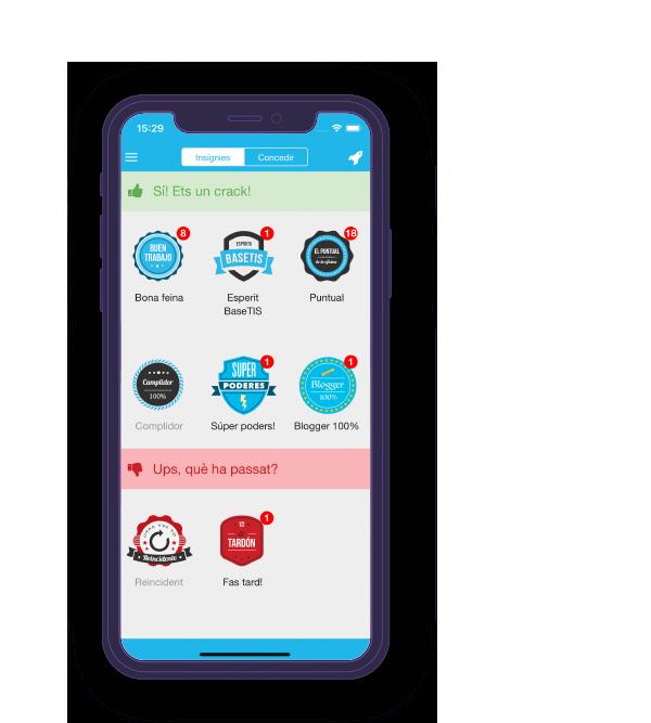 basetis app screen - basetis