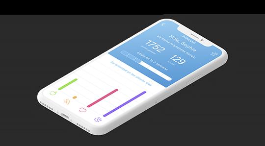 Aplicación de Wellness Habits hecha por Basetis