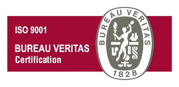 Logo ISO 9001:2015 Bureau Veritas