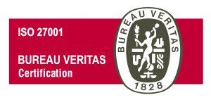 Certificat ISO 27001